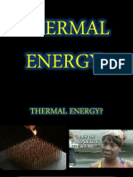 Thermal Energy Notes