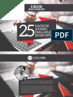 25 Hacks de Sucesso Para Aplicar Em Seu Site - IAG