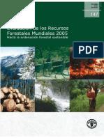 Evaluacion de Los Recursos Forestales Mundiales 2005