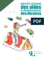 Petit Guide des aides à destination des libraires