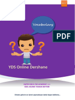 YDS Özel 5000 Kelime Tekrar Defteri- Zafer Hoca YDS Academy