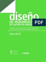 Estudio Diseno Indumentaria Auto Argentina 2012 Inti Fp