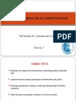 Dermofarmacie Si Cosmetologie Curs 1