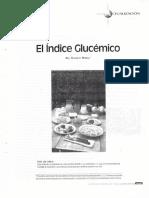 Índice Glucémico