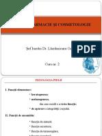 Dermofarmacie Si Cosmetologie Curs 2