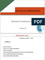 Dermofarmacie Si Cosmetologie Curs 3
