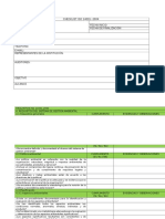 Checklist ISO 14001