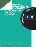 Guía Educación Sexual Adolescentes