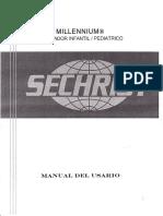 Ventilador Sechrist Millennium - Manual Usuario