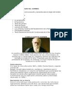 Teorías Del Origen Del Hombre Segun Darwin