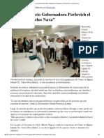 """18-02-16 Pone en servicio Gobernadora Pavlovich el Hospital """"Carlos Nava"""" - Canal Sonora"""