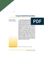 Duru Bellat Document sur la mixité