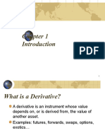 Chapter 1 Overview of Derivatives