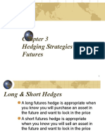 Chapter 3.2 Futures Hedging