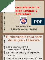 El microrrelato en la clase de Lengua y Litera