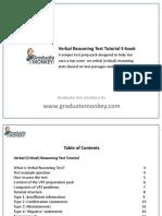 Verbal Reasoning Test Tutorial eBook Sample Only