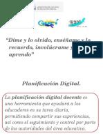 Planificación Digital DOCENTE