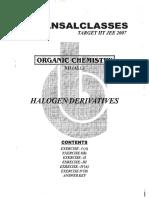 Halogen DerivativesOrganic Chem Class XII