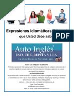 4 Auto Ingles Expresiones Idiomaticas Idioms Que Usted Debe Saber