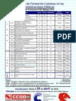 Plan Formación FSC Málaga 2010