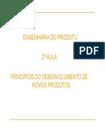 2ªaula - Engenharia Do Produto
