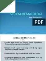 Sistem Hematologi (Fajri)
