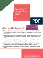 lysergic acid diethylamide  lsd