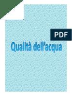 (Esercitazioni Igiene alimenti 2011,2012 Qualit+á dell_acqua