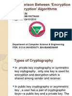 A Comparison Between 'Encryption and Decryption'