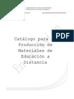 Catálogo de diseño de materiales digitales