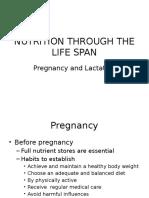 Nutrition Through the Life Span Pregnancy