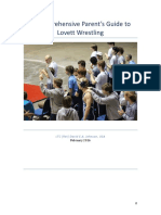 A Comprehensive Parent's Guide to Lovett Wrestling