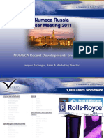 Numeca Russia User Meeting 2011