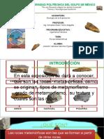 EXPOSICION GEOLOGÍA METAMORFICAS
