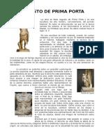 Augusto de Prima Porta (Comentario)