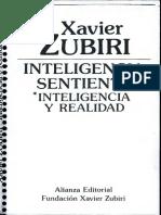 Zubiri_Inteligencia Sentiente (1)