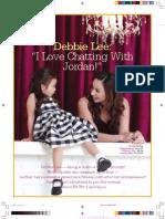 "Debbie Lee — ""I Love Chatting with Jordan"""