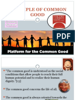 Principle of Common Good