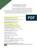 Copywriter Reading List