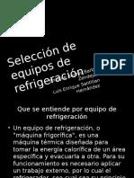 Selección de Equipos AC y Refrigeracion