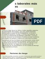 Riesgos Laborales Más Comunes (SALUD OCUPACIONAL)