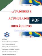 Acumuladores e atuadores hidrulicos