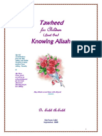 tawheed for children