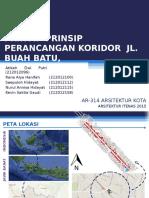 Prinsip Perancangan Jl. Buah Batu Bandung