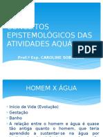 Conceitos Epistemológicos das Atividades Aquáticas