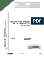 Regulacion de Gases de Combustion