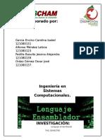 Lenguaje Emsablador Lenguajes y Automatas