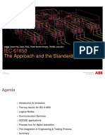 The Approach and the Standard IEC61850
