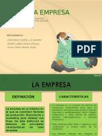 La Empresa- Diapositivas