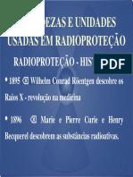 Grandezas e Unidades Usadas Em Radioproteção